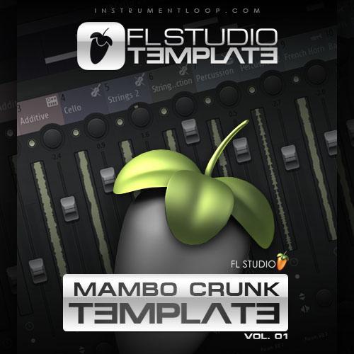 "Mambo Crunk ""Trap"" 01 - FLP Template (Flp + Multitrack)"