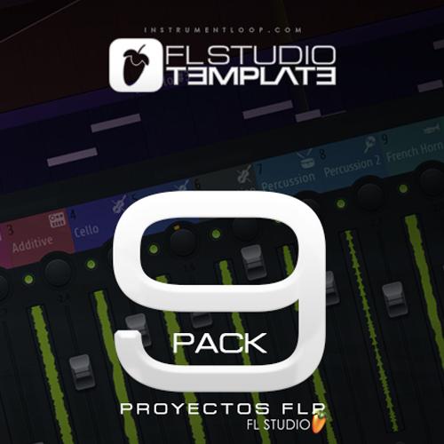9 Beat Pack FLP Fl Studio + Multitracks STEMS
